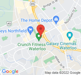 Google Map of 115+Northfield+Dr+W%2CWaterloo%2COntario+N2L+6K1