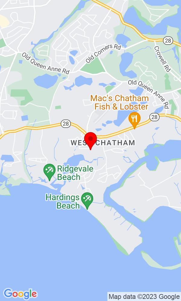 Google Map of115 Seaquanset Rd Chatham MA