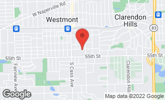 Map of 115 East Des Moines Street WESTMONT, IL 60559