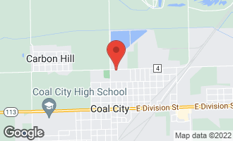 Map of 115 East North Street COAL CITY, IL 60416