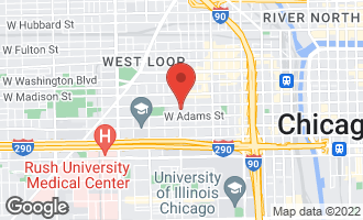 Map of 115 South Racine Avenue CHICAGO, IL 60607
