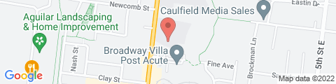 Google Map of 1150 Broadway, Sonoma, CA 95476