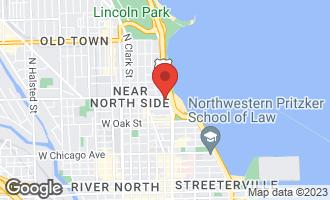 Map of 1150 North Lake Shore Drive 3A CHICAGO, IL 60611