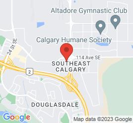 Google Map of 11500+35+Street+SE%2CCalgary%2CAlberta+T2Z+3W4