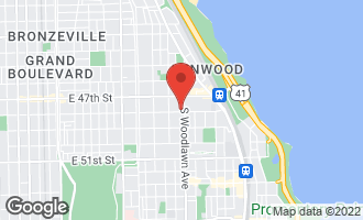 Map of 1152 East 48th Street CHICAGO, IL 60615