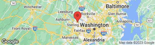 Map of 11546 PRESERVE DRIVE GREAT FALLS, VA 22066