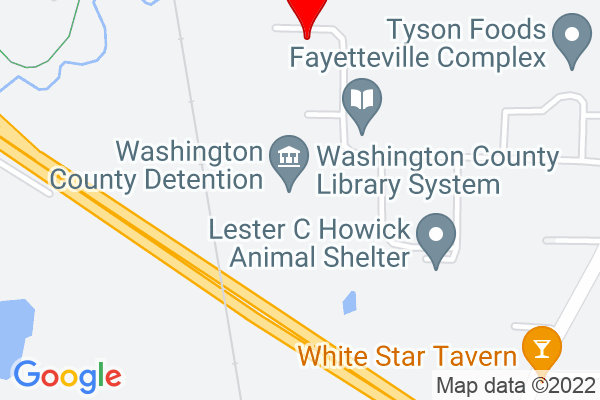 Google Map of Washington County Road Department