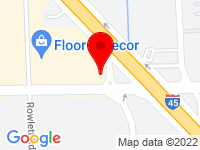 Google Map of 11570 Gulf Fwy.