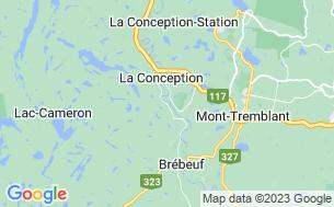 Map of Camping Parc La Conception - Parkbridge