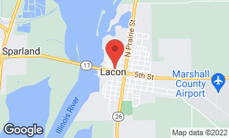 Map of 116 North Washington Street LACON, IL 61540