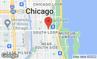 Map of 1160 South Michigan Avenue #2405 CHICAGO, IL 60605