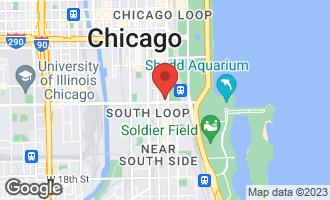 Map of 1160 South Michigan Avenue #3603 CHICAGO, IL 60605