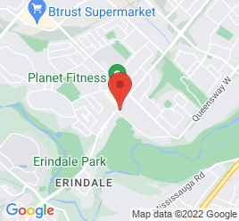 Google Map of 1162+Dundas+Street+West%2CMississauga%2COntario+L5C+1E2