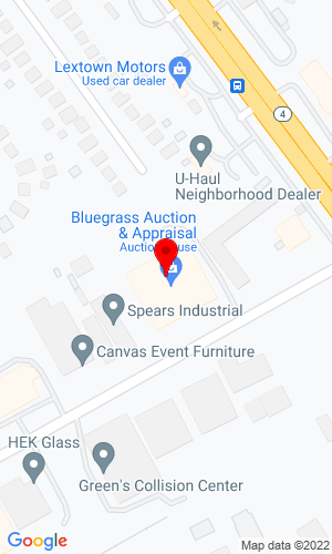 Google Map of Bluegrass Auction, Appraisal and Realty 1163 Floyd Drive, Lexington, KY, 40505