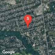 Satellite Map of 117 Highland Cres, Toronto, On
