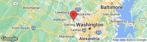 Map of 11721 PLANTATION DRIVE GREAT FALLS, VA 22066