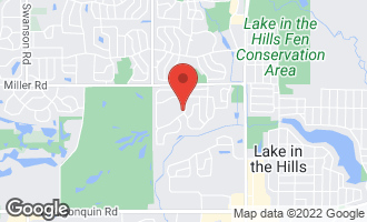 Map of 1173 Heavens Gate LAKE IN THE HILLS, IL 60156