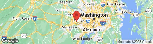 Map of 11736 VALLEY RIDGE CIR FAIRFAX, VA 22033