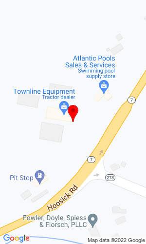 Google Map of Park East Sales, LLC 1175 Hoosick Road, Troy, NY, 12180