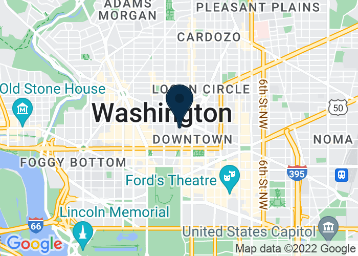 Map of 1177 15th Street, NW, Washington, DC 20005, United States