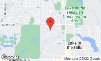Map of 1179 Moonstone Run LAKE IN THE HILLS, IL 60156