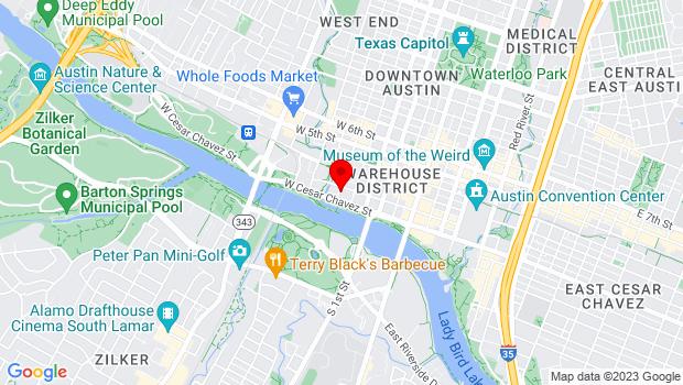 Google Map of 118 Nueces, Austin, TX 78759