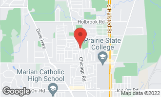 Map of 118 North Mayfair Place CHICAGO HEIGHTS, IL 60411