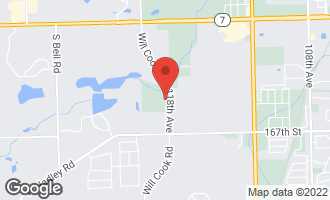 Map of 11822 Canon Road ORLAND PARK, IL 60467
