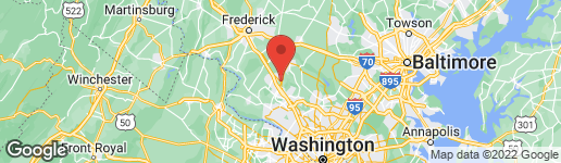 Map of 11824 MORNING STAR DRIVE GERMANTOWN, MD 20876