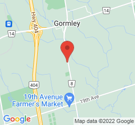 Google Map of 11874+Woodbine+Ave%2CStouffville%2COntario+L0H+1G0