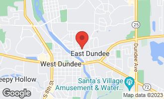 Map of 119 Barrington Avenue EAST DUNDEE, IL 60118
