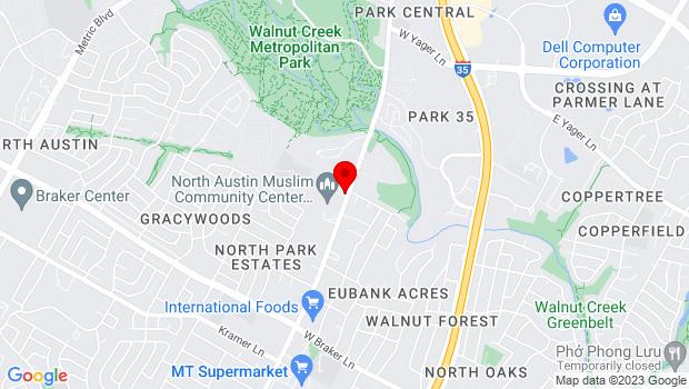 Google Map of 11908 N. Lamar Blvd, Austin, TX 78753, Austin, TX 78753