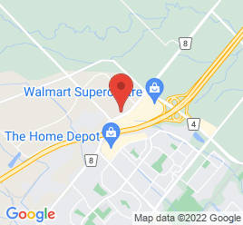 Google Map of 1195+Steeles+Ave+East%2CMilton%2COntario+L9T+2X8