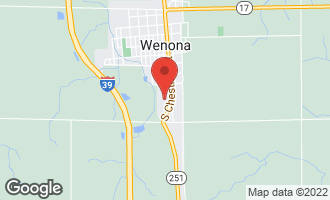 Map of 12 Ontario Avenue WENONA, IL 61377