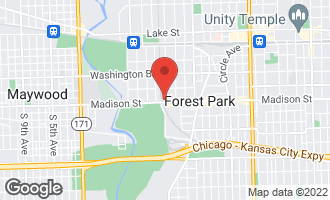 Map of 12 Park Avenue RIVER FOREST, IL 60305