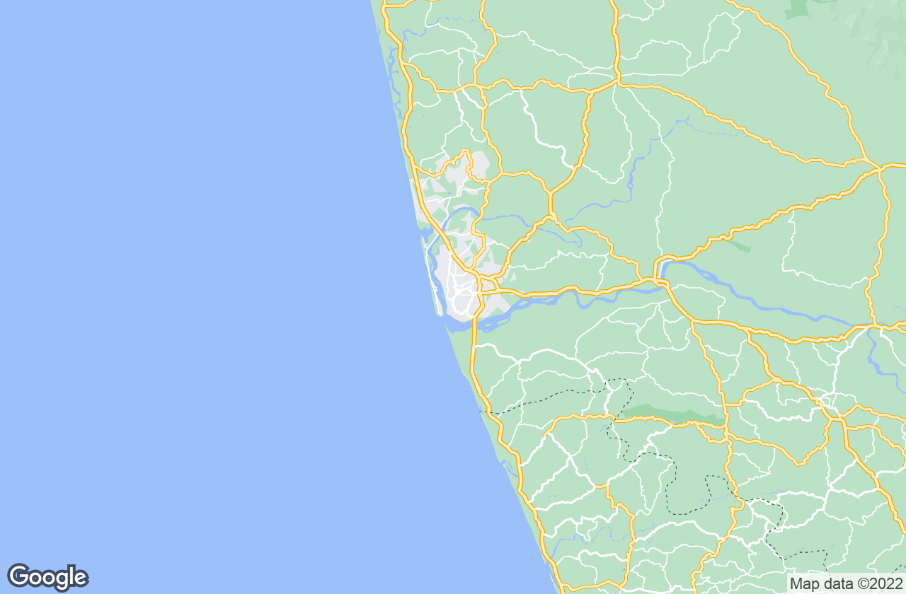 Google Map of مانغالورو