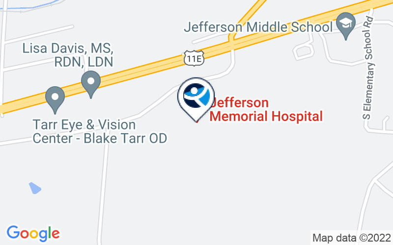 Cherokee Health Systems - Jefferson City Location and Directions