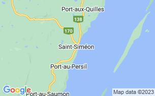 Map of Camping Municipal Saint-Siméon