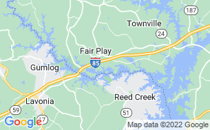 Map of Carolina Landing RV Resort