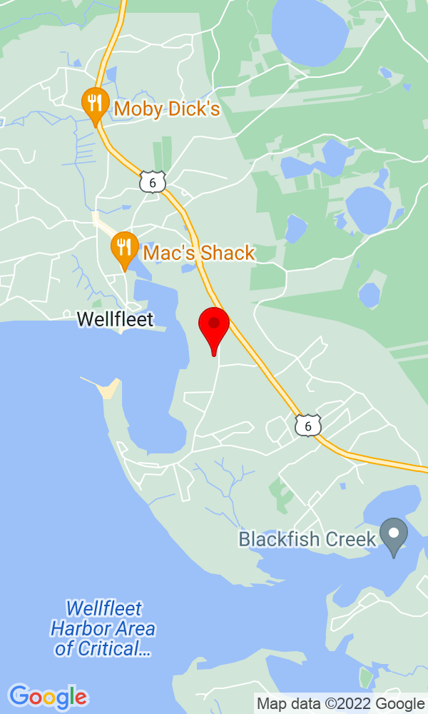 Google Map of 120 Cove Road Wellfleet MA
