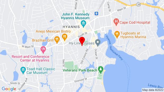Google Map of 120 High School Road , Hyannis, MA 02601