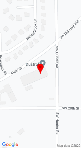 Google Map of Dustrol, INC 1200 East Main, Towanda, KS, 67144