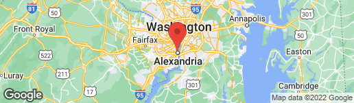 Map of 1200 BRADDOCK PLACE #515 ALEXANDRIA, VA 22314