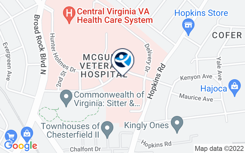 Hunter Holmes McGuire Medical Center Location and Directions