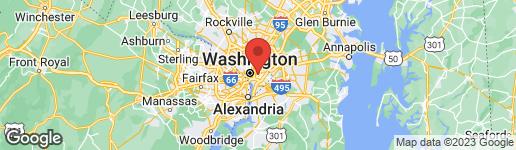 Map of 1201 I STREET NE WASHINGTON, DC 20002