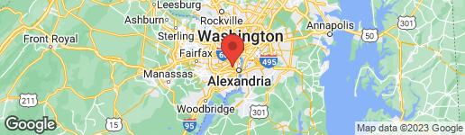 Map of 1201 KEY DRIVE ALEXANDRIA, VA 22302