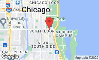 Map of 1201 South Prairie Avenue #4005 CHICAGO, IL 60605