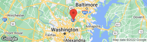 Map of 1201 WHITE WAY LAUREL, MD 20707