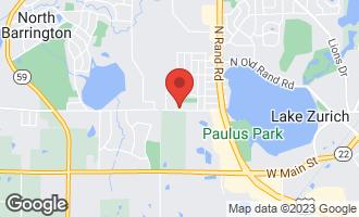 Map of 1202 Honey Lake Road LAKE ZURICH, IL 60047