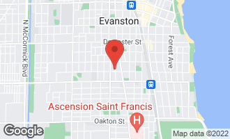 Map of 1203 Lee Street EVANSTON, IL 60202